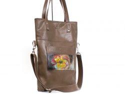 Le cosmopolitain, un sac à main malléable style fourre-tout