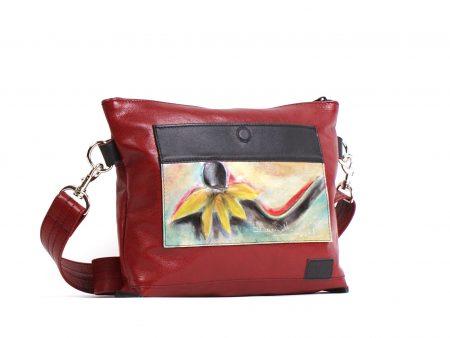 Le petit sac à main Savana rouge