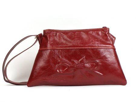 Un sac à main en cuir